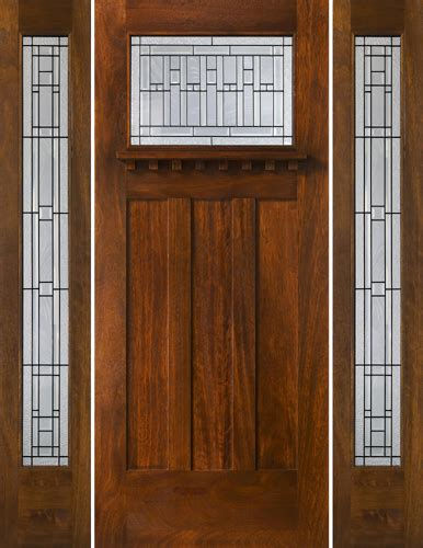 Arts And Crafts Exterior Doors Craftsman Style Doors Mission Style Doors