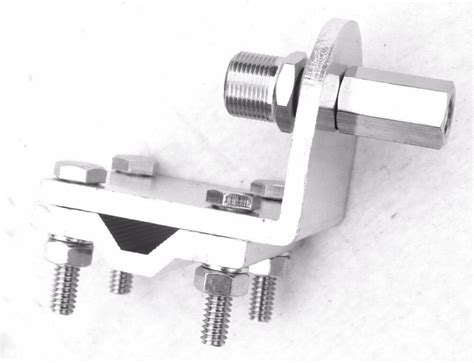 cb antenna mounting bracket 3 way for peterbilt kenworth freightliner ebay