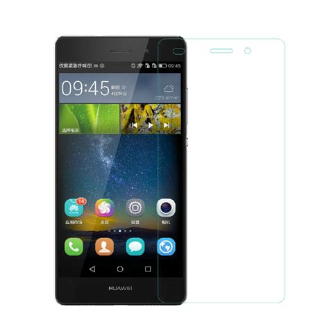 Tempered Glass For Huawei P6 מוצר vrurc tempered glass for huawei p6 p7 p8 p9 p8 mini