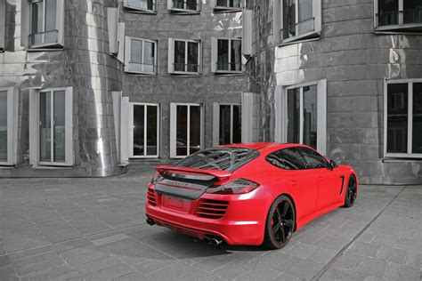 red porsche panamera red porsche panamera tuning by anderson germany