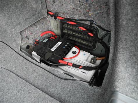 Bmw 1er Cabrio Batterie Laden by Wo Ist Die Batterie Beim Bmw E91