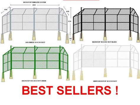 Backyard Batting Cage Plans Backstops Outfield Fencing Batting Cages Baseball