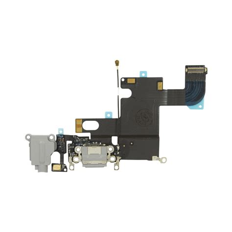 Dock Connector iphone 6 dock connector charging port assembly adhesive replacement part black ebay