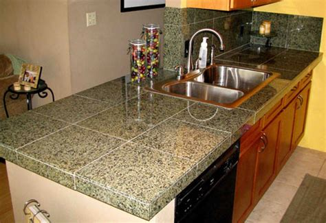 Granite Tile Kitchen Countertops How To Install A Granite Tile Countertop Today S Homeowner