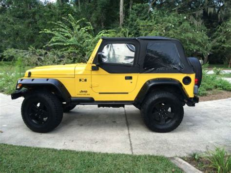 buy used 2004 jeep wrangler x sport utility 2 door 4 0l