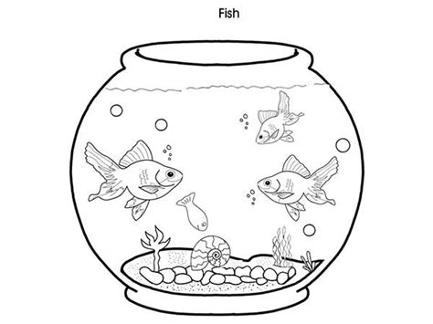 Fish Tank Coloring Page Here Home Fish Tank Cheap Fish Fish Tank Coloring Pages