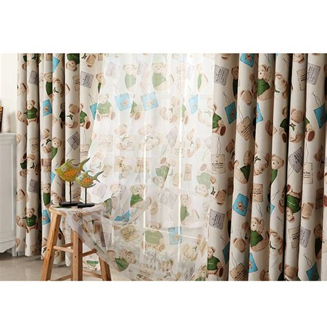 curtains with bears on them curtains with bears on them vintage shower curtain by