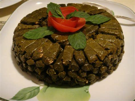 lebanese stuffed grape leaves the mediterranean chef com
