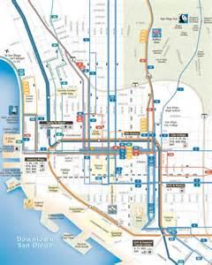 San Diego Trolley Map by Trolley San Diego Ca Map Images