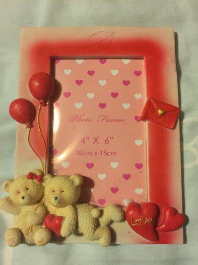 Frame Foto Teddy teddy photo frame picture frame valentines for sale in galway city centre