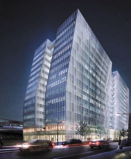 si鑒e entreprise lyon sky 56 enfin un geste architectural innovant dans le