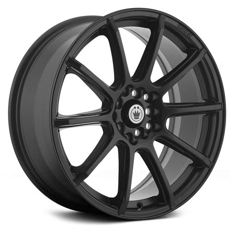 black wheels konig 174 wheels matte black rims