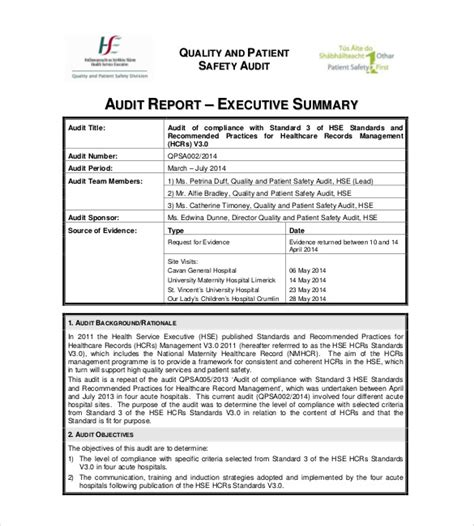 free executive summary for reporting template summary report template templates station