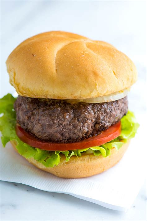 the best no fuss hamburger recipe