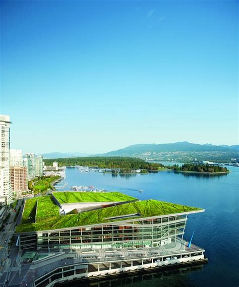 living roof a look at the vancouver convention centre s
