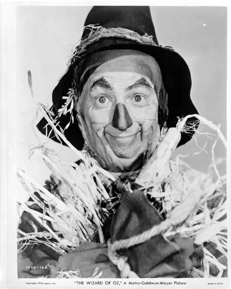 Wizard of Oz 1939 Ray Bolger-scarecrow The most famous