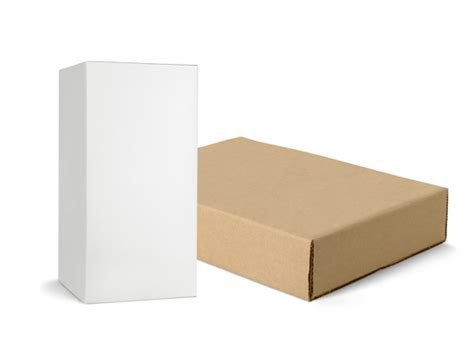 blank packaging templates 4 designer the blank box packaging psd layered material 2