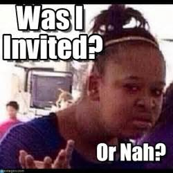 Confused Black Girl Meme - was i invited confused black girl meme en memegen