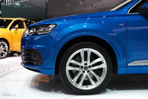 21 inch audi wheels 2015 naias audi q7 21 inch wheels motoring rumpus