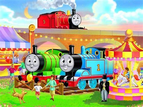 Thomas The Tank Engine Wall Mural thomas the train wallpaper wallpapersafari