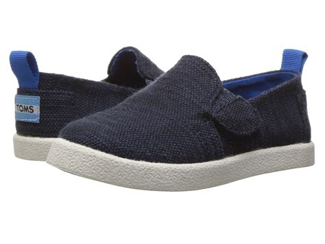 toms athletic shoes toms avalon slip on infant toddler kid navy