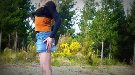 short shorts crossdresser youtube crossdressing layered top with mini skirt youtube
