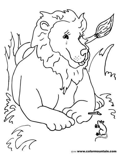 Mountain Lion Printable Coloring Pages Mountain Coloring Page 2