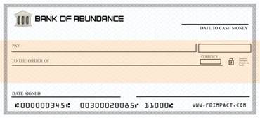 the blank check png abundance manifestation pinterest