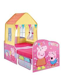 peppa pig startime toddler bed very co uk