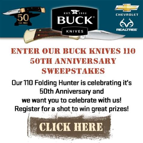 buck knives sweepstakes 4x4 fishing trips and silverado truck on