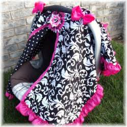 Carsear Canopy by Carseat Canopy Ruffle Edge Carseat Canopy By Fashionfairytales