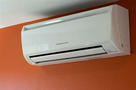 mitsubishi ac heater wall unit photo gallery mitsubish air conditioners slim and smart