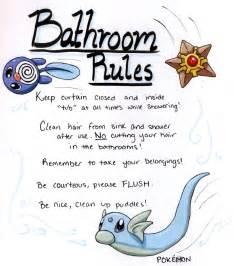 Bathroom Etiquette For Work 6 Best Images Of Work Bathroom Printable