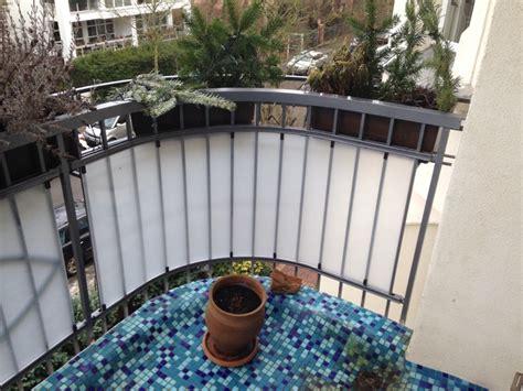Balkon Seitensichtschutz by Wasserdichte Magnete Halten Sichtschutz Am Balkon