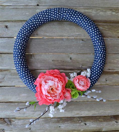 spring wreath diy diy simple spring wreath