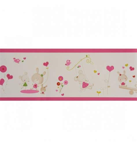 frise murale cuisine frise papier peint d 233 coration chambre fille