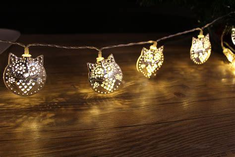 Kcasa 1 8m 10 Led Metal Owl String Lights Led Fairy Lights Festival String Lights