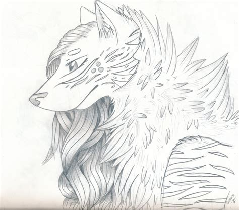 majestic wolf hair by lilkittens119 on deviantart