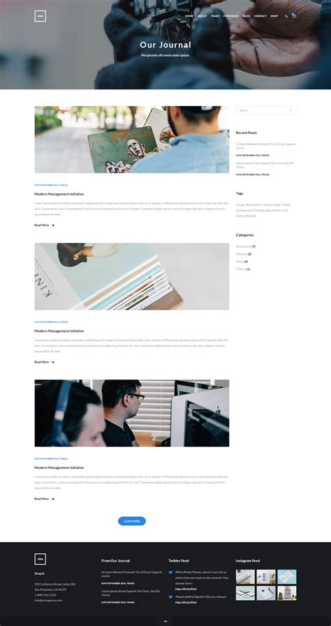 theme blog classic ctm creative multipurpose psd template by alexstefan44