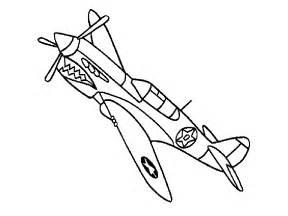 30 dessins coloriage avion guerre 224 imprimer sur laguerche 1