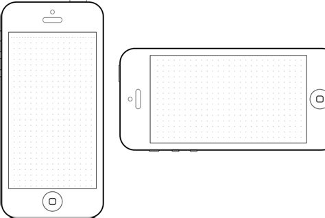 phone screen template best photos of iphone a4 design templates printable
