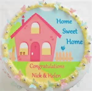 new home cake cake toppers new home