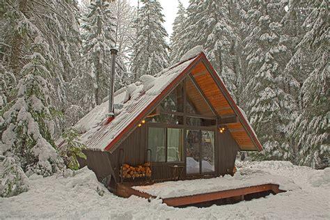 cabin vacation a frame cabin near tacoma