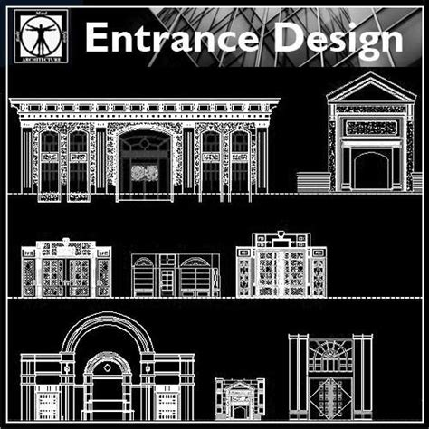 entrance design cad library autocad blocks autocad products tagged quot entrance design quot cad design free