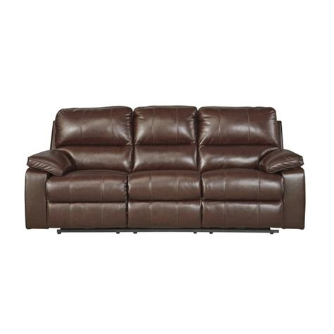 transister coffee power reclining sofa ashley transister power reclining leather sofa in coffee