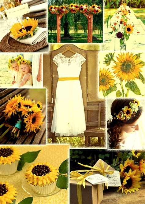 boda de co con girasoles decoracion para boda wedding sunflowers and