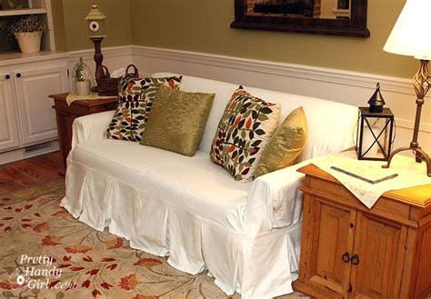how to make a slipcover for a couch sanding tutorial and prepping a branch towel bar pretty