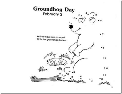groundhog day kindergarten preschool alphabet groundhog s day