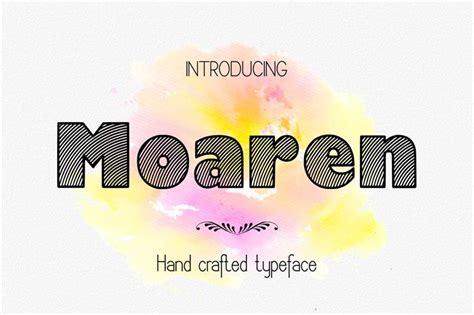 Handcrafted Font - moaren handcrafted font responsive joomla and