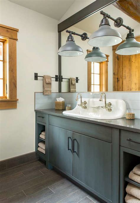 Farmhouse Bathrooms Ideas 20 Beautiful Farmhouse Bathroom Decor Ideas How To Simplify